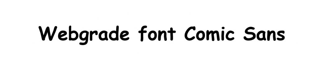 font script
